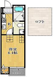 仮)駿河台新築AP2[1階]の間取り