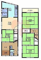 堺市東区草尾戸建 1階4LDKの間取り