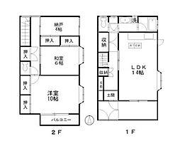 [テラスハウス] 埼玉県さいたま市南区別所1丁目 の賃貸【/】の間取り