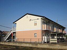 愛知県あま市金岩江西上の賃貸アパートの外観