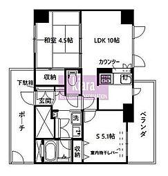 エルハイム西横浜[3階]の間取り
