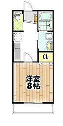 仮)松ヶ丘4丁目アパート[207号室]の間取り