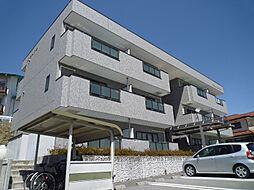 長野県諏訪郡富士見町落合の賃貸マンションの外観
