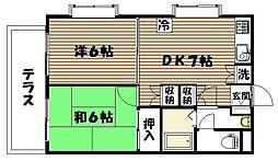 富沢駅 徒歩13分1階Fの間取り画像