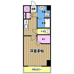 アクセルコート[4階]の間取り