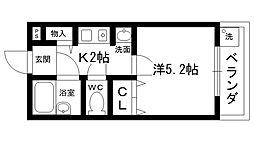 ステラハウス4−400[407号室]の間取り