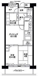 フロール山田町第3[702号室]の間取り