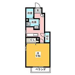 仮)リーブル石原邸[1階]の間取り