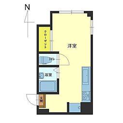 KASA ARAMACHI[205号室]の間取り