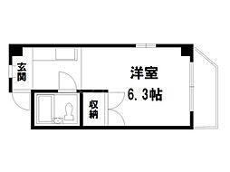 サイトウビル[2階]の間取り