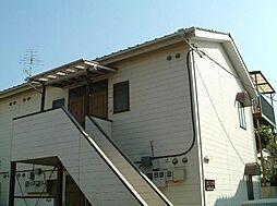 千葉県市川市大洲1丁目の賃貸アパートの外観