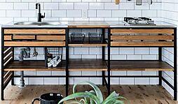 〜キッチンプラン例〜システムキッチン設置(同一タイプ)工事費70万円(価格に含みません)