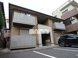 愛知県名古屋市千種区新池町4丁目の賃貸アパートの外観