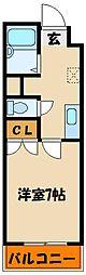 ギャラクシー[4階]の間取り