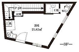 スリジエ哲学堂[3階]の間取り