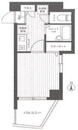 スカイコート高田馬場第6[6階]の間取り