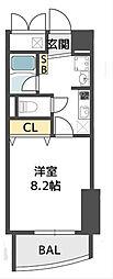 ウィルドゥ千代崎[3階]の間取り