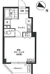 セイコーガーデンIII[6階]の間取り