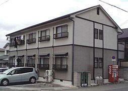 兵庫県姫路市菅生台の賃貸アパートの外観
