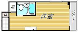 東京都江東区平野1丁目の賃貸マンションの間取り