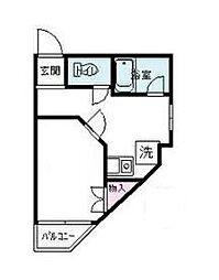 峰マンション[2階]の間取り