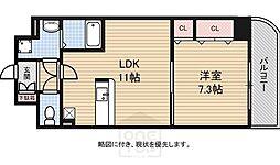 メゾン・フロールIMAKUBO[3階]の間取り