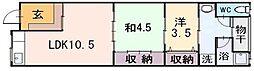 [一戸建] 大阪府東大阪市西上小阪 の賃貸【/】の間取り