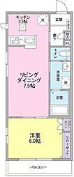東京都世田谷区等々力7丁目の賃貸マンションの間取り