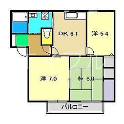 Y's21[2階]の間取り