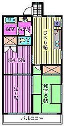齋藤マンション[203号室]の間取り