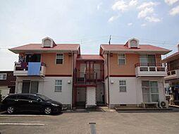 コーポラス松尾A・B[2階]の外観