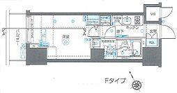 東京都渋谷区恵比寿3丁目の賃貸マンションの間取り