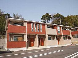 山口県下関市小月西の台の賃貸アパートの外観