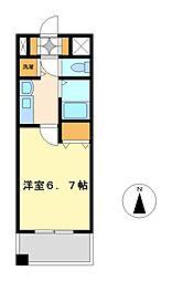 プレサンス泉セントマーク[3階]の間取り