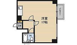 大阪府大阪市淀川区西中島6丁目の賃貸マンションの間取り