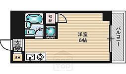 シャトーナカタ[6階]の間取り