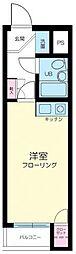 東京都豊島区池袋本町2丁目の賃貸マンションの間取り