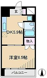 ドエル千駄木[6階]の間取り