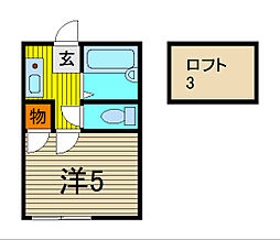 7th AVENUE[1階]の間取り