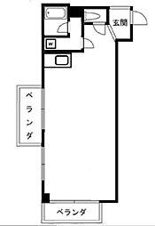 東京都足立区栗原3丁目の賃貸マンションの間取り