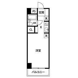 神奈川県川崎市多摩区東三田3丁目の賃貸マンションの間取り