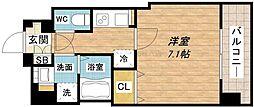 W-STYLE大阪谷町[8階]の間取り