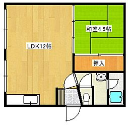 小林サンハイツ[2階]の間取り
