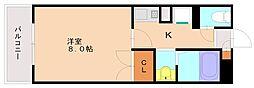 パワーズマンション[2階]の間取り