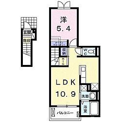 ケントクI[2階]の間取り