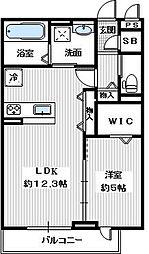 (仮称)大阪狭山市半田2丁目新築[205号室]の間取り