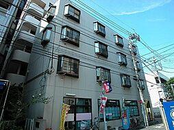 東京都調布市東つつじケ丘1丁目の賃貸マンションの外観