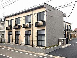 東京都葛飾区西水元4丁目の賃貸アパートの外観