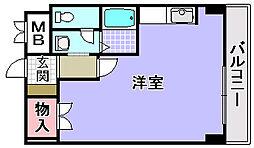 マスターズエル松ノ浜582[403号室]の間取り