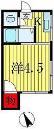 みづほ荘[2階]の間取り